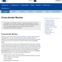 Cross-border review