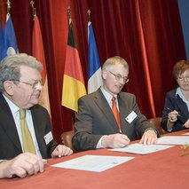Establishment of the Basle Trinational Eurodistrict