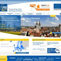 The Urbact programme's website