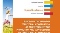 "Etude du Parlement européen : ""European Grouping of Territorial Cooperation as an instrument for promotion and improvement of territorial cooperation"""