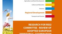 A European Parliament study on territorial cooperation programmes
