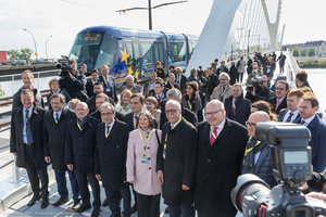 A cross-border tramline once again links Strasbourg to Kehl