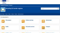 "Lancement de la plateforme ""Boosting EU border regions"""