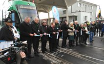 The Basel tram network extended to Saint-Louis!