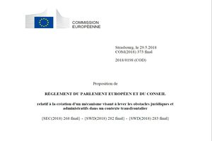 The European cross-border mechanism – a victory for the MOT and its partners