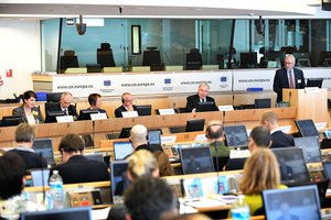 "Meeting in Brussels on ""Missing Railway Links"""