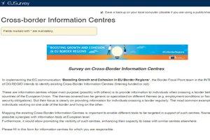 La DG REGIO recense les centres d'informations transfrontaliers, ainsi que les observatoires aux frontières