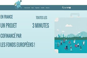 "New look for the ""Europe in France"" website"