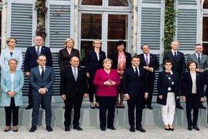 Signature à Toulouse d'une déclaration franco-allemande