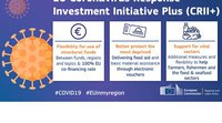 The European Commission has launched the Coronavirus Response Investment Initiative Plus – CRII+