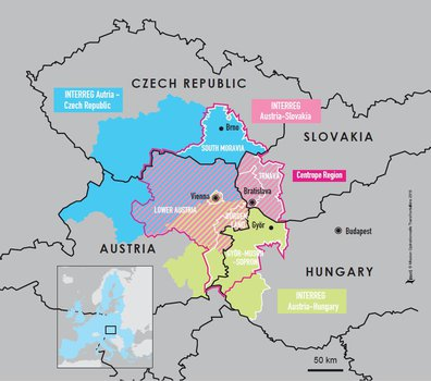 Map Of Germany And Czechoslovakia.Espaces Transfrontaliers Org Border Factsheets