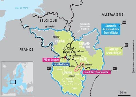 Ville Francaise Proche Du Luxembourg