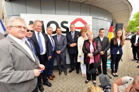 "An ""Open Service Centre for Germany"" (MOSA) for border inhabitants from the Sarre-Moselle territory"