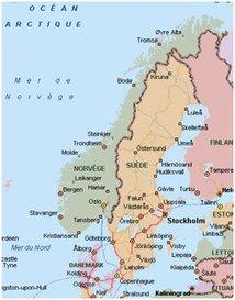 Carte Norvege Suede.Espaces Transfrontaliers Org Fiches Frontieres