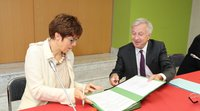 Lorraine and Saarland sign a cross-border agreement on professional training