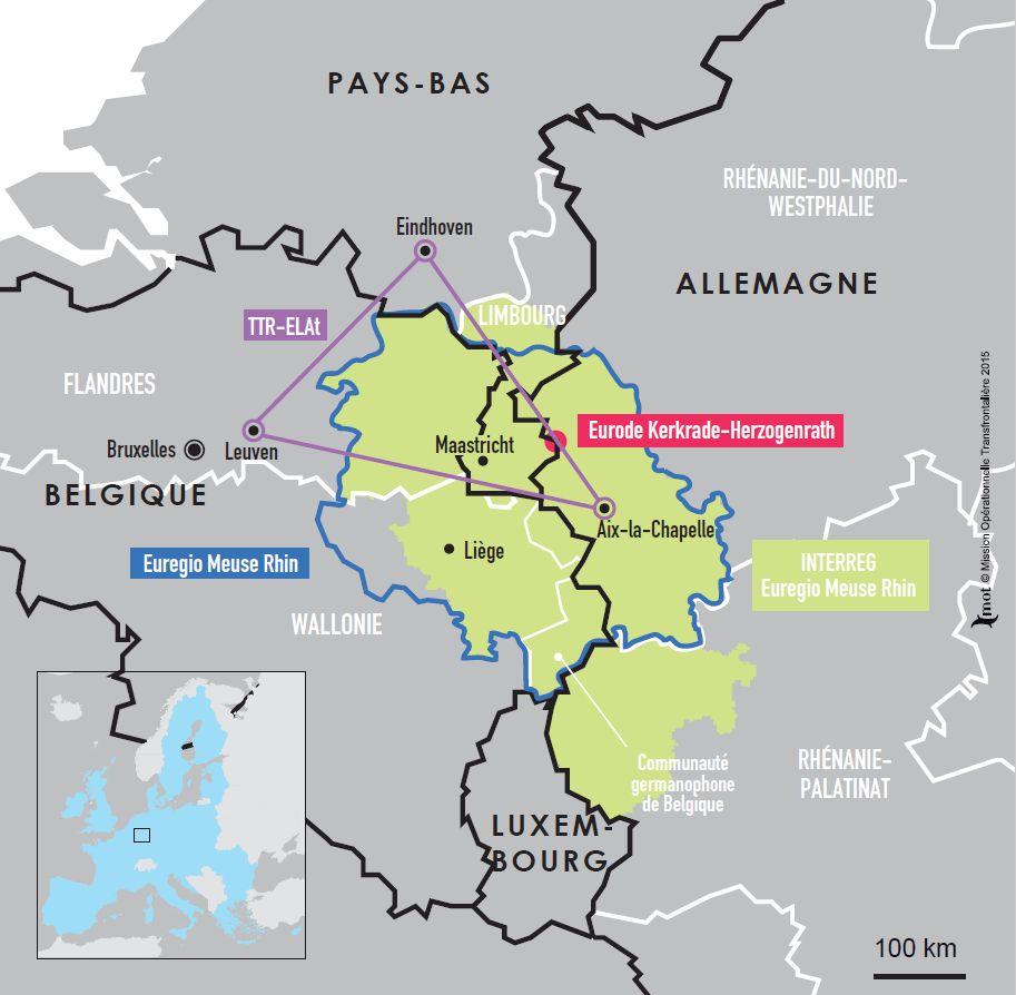 Ville D Allemagne La Plus Proche De La Belgique